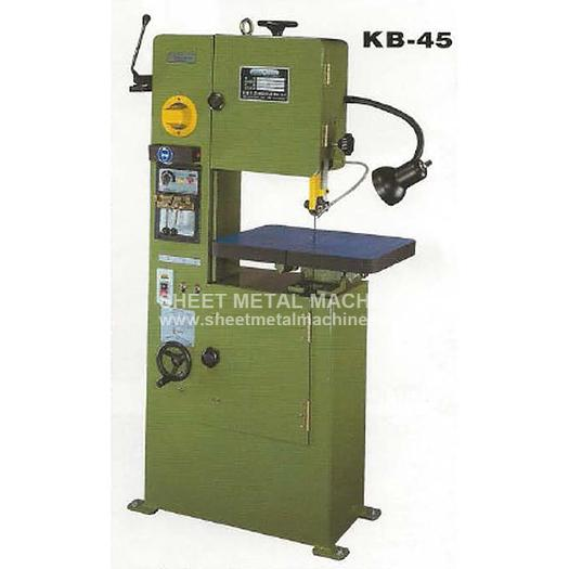 BIRMINGHAM Vertical Metal Cutting Band Saw KB-45