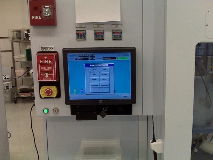 Used Semitool Mini Raider wet processing system