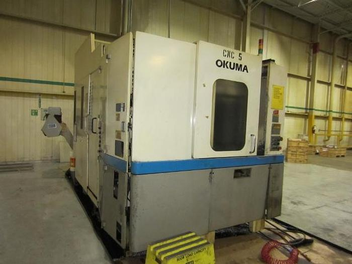 Okuma Model MA-40HA Horizontal Machining Centre, 2000 5399