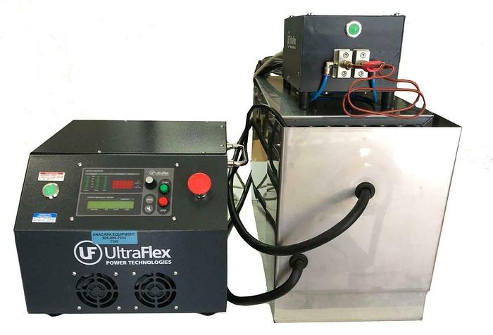 Used UltraFlex Power UPT-S5, HS-4 Induction Heater, Cooler, Cables Complete (7599) R