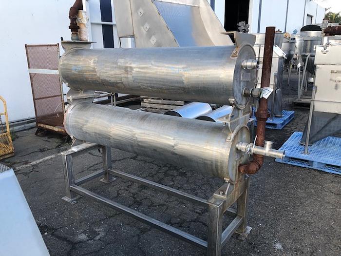1989 Cherry Burrell Twin Barrell Heat Exchanger
