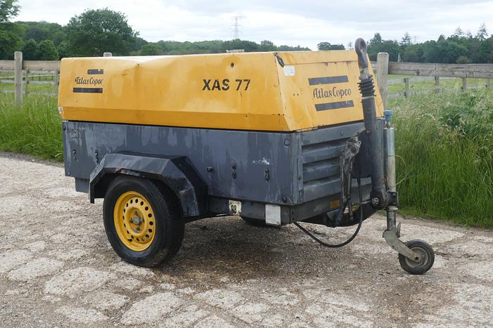 Used 2007 ATLAS COPCO XAS77