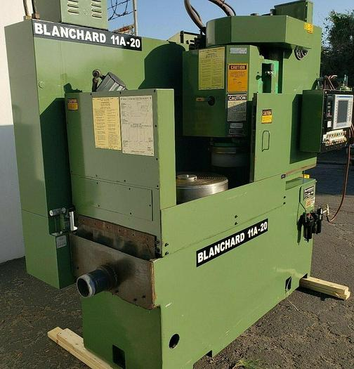 Used 20″ CNC BLANCHARD MODEL 11A-20 ROTARY SURFACE GRINDER BARELY USED ORIGINAL PAINT