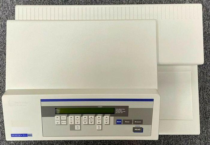Used Molecular Devices Spectrophotometer Spectra Max 250 Microplate Reader