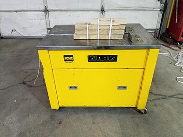 Used Acme Interlake NS-3 Strapping Machine