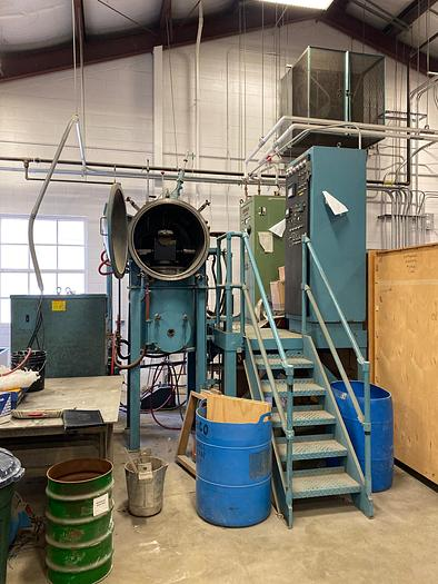 1990 INDUCTOTHERM 30 LB VACUUM INDUCTION MELTING FURNACE (On Hold)