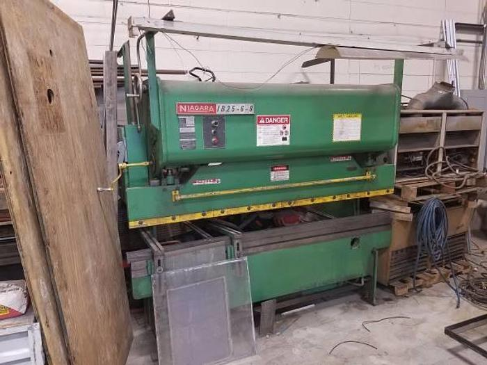 Used Niagara Press Brake 25 ton