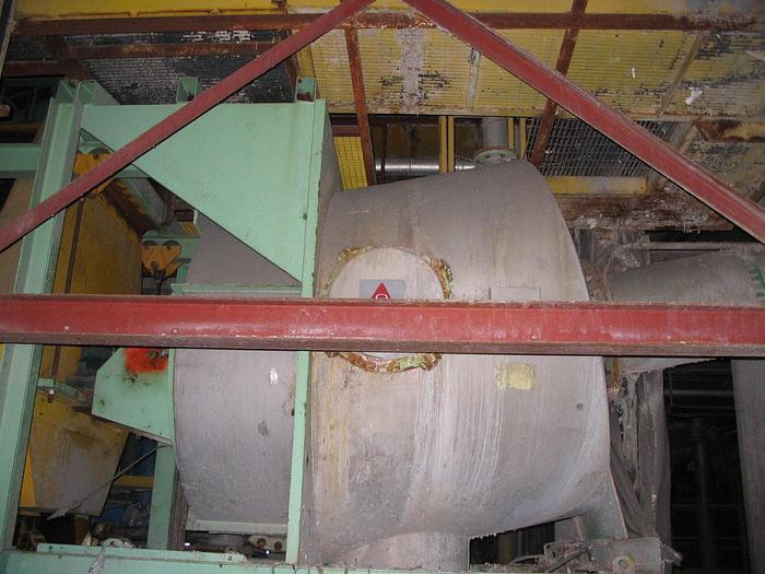 Used LAMORT FIBERPREP SIZE IV BATCH SCAVENGER/DETRASHER 200HP