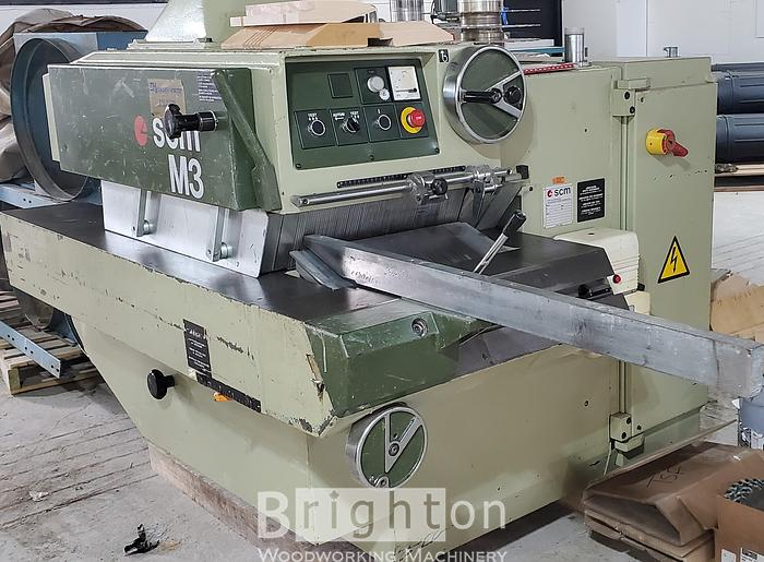 Used SCM M3 used 56 hp multi-ripsaw.