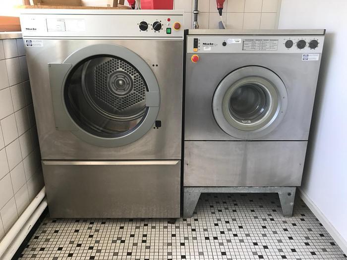 Gebraucht gebr. Industriewaschmaschine MIELE Type Electronic WS-55 Baujahr 1992