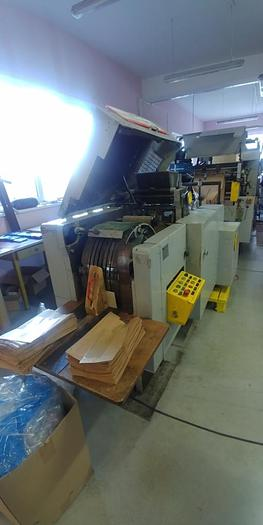 Used W & H Matador S0 - (4 col flexo, Flat bags with window)