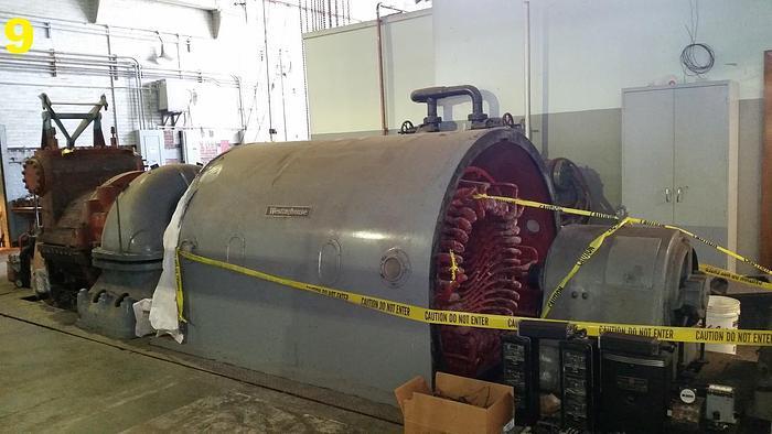 Used Westinghouse 6250 KVA Generator