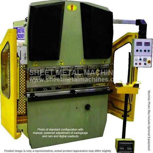 U.S. INDUSTRIAL Simple CNC Hydraulic Press Brake USHB22-4SCNC