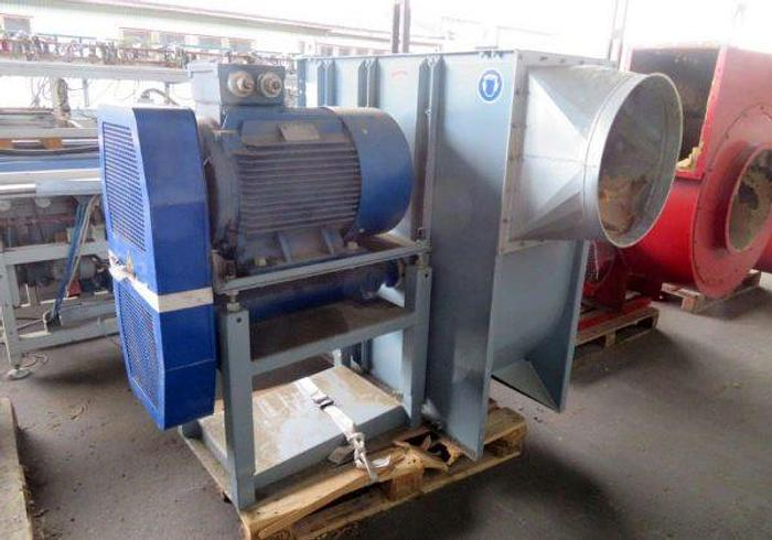 Used Saw dust and suction fans