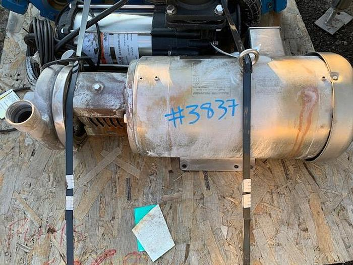 """2 1/2"""" x 2"""" 10 Hp Stainless Steel Centrifugal Pump"""