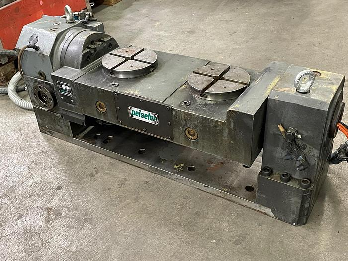 Gebraucht NC-Zweiachsschwenkeinrichtung PEISELER ZAS160