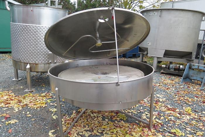 """Used ALBANY ENGINEERED SYSTEMS 55"""" GRAVITY STRAINER S/S"""