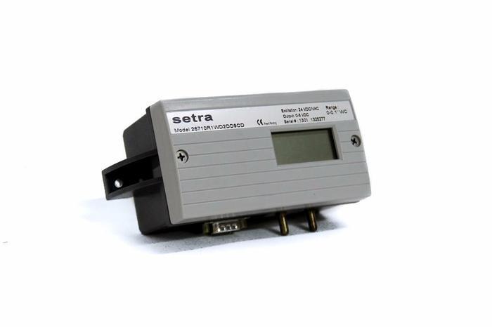 """Used Setra 26710R1WD2DD9CD Pressure Transducer 0-0.1"""" (4148)"""