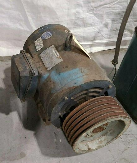 Used Leeson 20HP 1800 RPM 208-230/460V 3 Phase Electric Motor