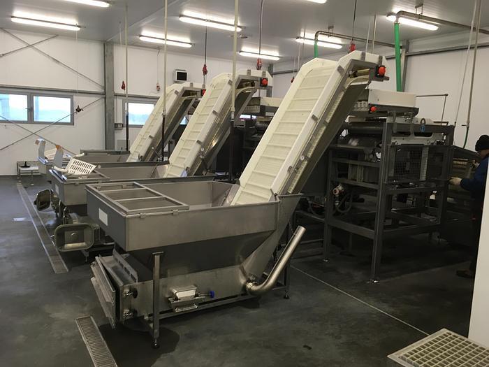 Used 2013 Peruza/Arenco pelagic fish processing line