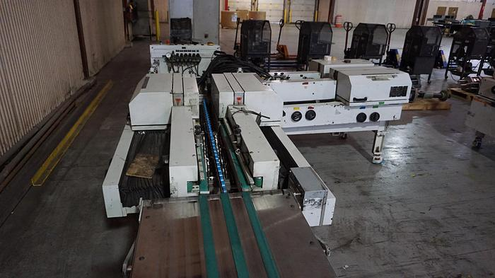 Used Gammerler RS111 4 Knife trimming system