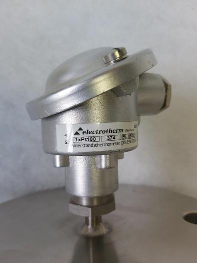 Widerstandsthermometer 1xpt100, Baureihe 374, Electrotherm, L 200mm, Edelstahl, neu