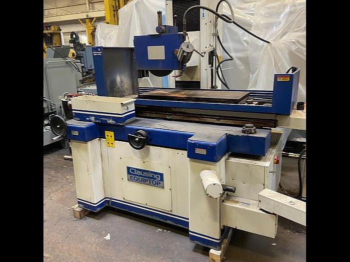 Used Clausing Surface grinder 1640 A