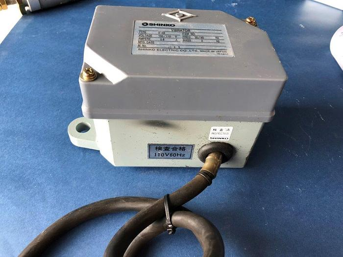Used shinko vibrator v-4B