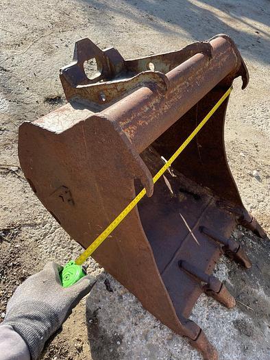 Gebraucht Tieflöffel 60 cm Arbeitsbreite
