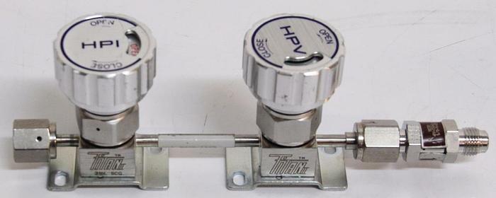 Used Parker Titan II Diaphragm Valve S032-1652 UHP HPI-HPV 150PSI (4428)