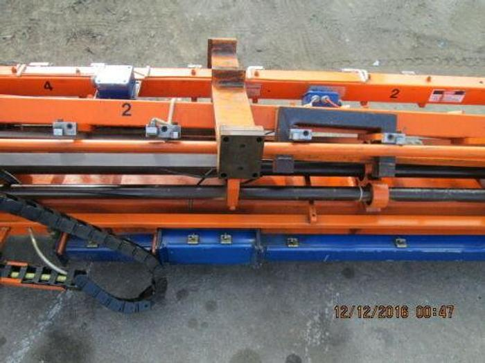 HMS PART TRANSFERING SYSTEM / AUTOMATIC TRANSFER SYSTEM FOR LARGE PUNCH PRESSES