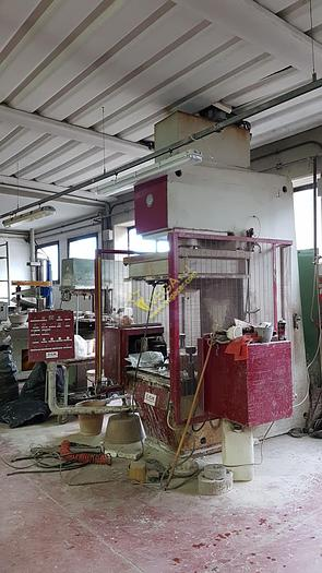 Used Hydraulic press RAM brand CM mod T 50 T.A. for plaster openable molds