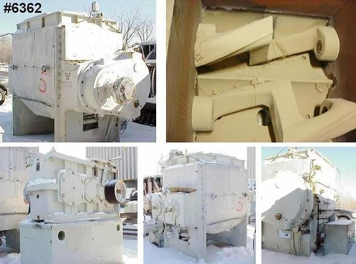 Used 400 GALLON WERNER AND PFLEIDERER DOUBLE ARM MIXER – S/S – JACKETED