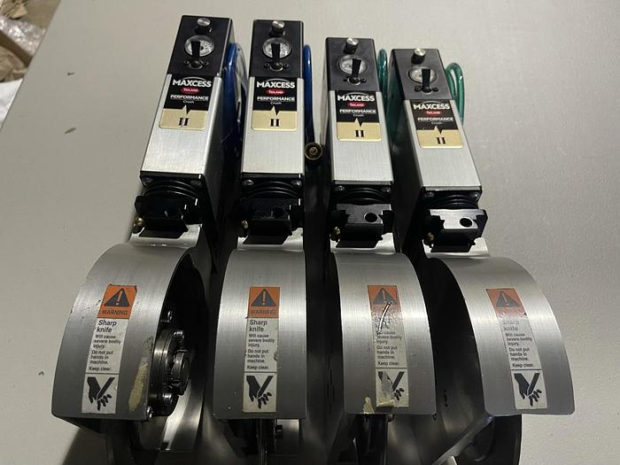Used MAXCESS TIDLAND PERFORMANCE CRUSH CLASS II KNIFE HOLDERS (FOUR AVAILABLE)