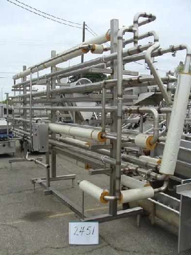 Stainless Steel Tube-In-Tube Heat Exchanger #2451