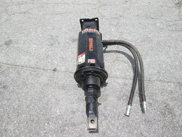 """Premier Hydraulic Drill Unit With 2'' Hex And 2"""" Square Adapter"""