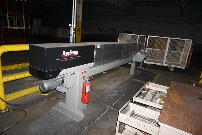 "Used 120"" APPLETON  A301 CORE CUTTER WITH AUTO ADVANCE MFG. 2010"