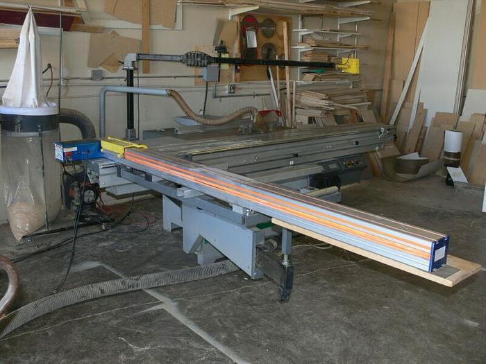 Used Altendorf F92T Sliding Table Saw W/ Tiger Fence  480V 3 Phase Mfg: 2004