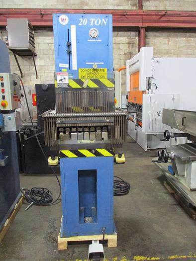 20 TON, RK MACHINERY, MODEL CFP-20T, HYDRAULIC C-FRAME PRESS - 2 AVAILABLE