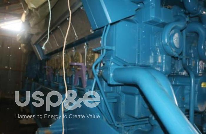 Used 5.3 MW 2007 New Wartsila W12V32 HFO Generator Sets