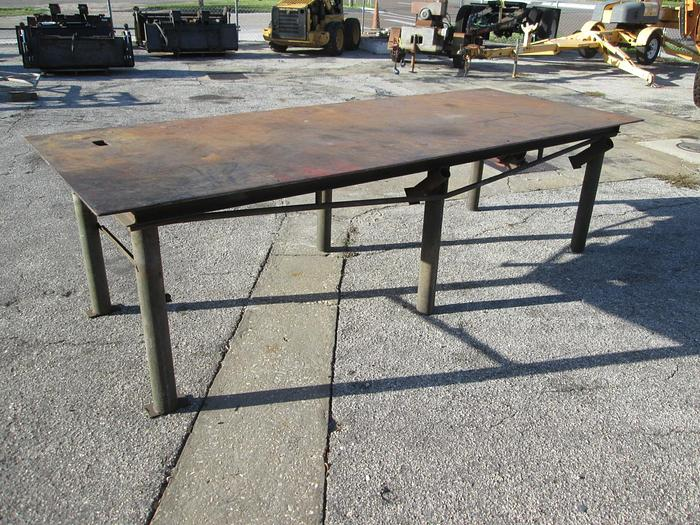 Used 4'x10' Welding/Shop Table