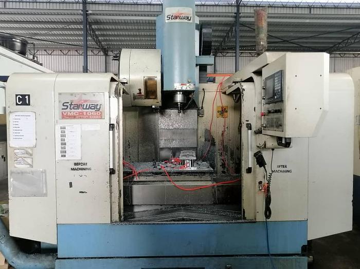 Used 2007 STARWAY VMC 1060I CNC MILLING MACHINE CENTER