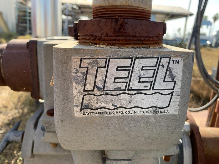 Teel 3P609 Solids Pump; 10HP Motor
