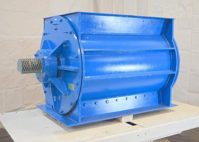 "Used 50"" x 36"" feeder airlock, Archer 36″ x 50″ metal wheel rotary valve"