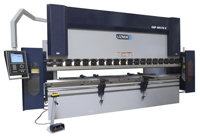 UZMA S Series synchro CNC press brakes standard model multi-axis CNC control high production