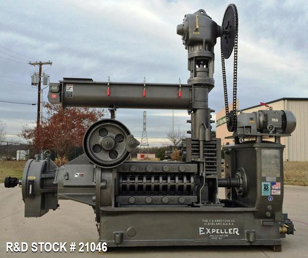 Used Anderson 33 Duo Expeller Press