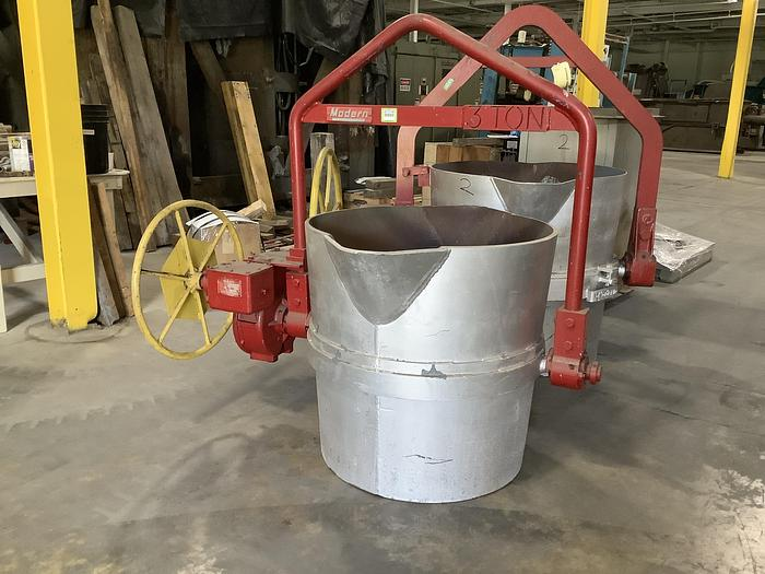 Used MODERN EQUIPMENT LADLE 3 TON (On Hold)