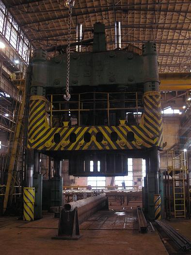 Used Prasa hydrauliczna 4000T