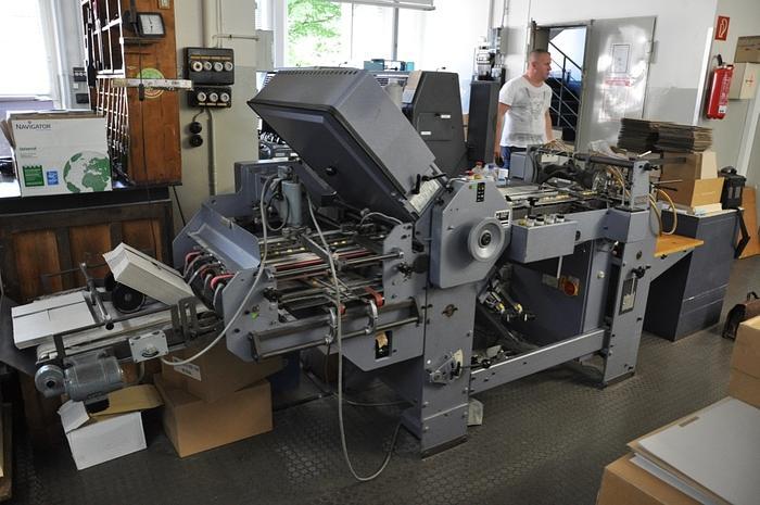 Gebraucht Stahl Falzmaschine K 47-4A, 1979, #1265767