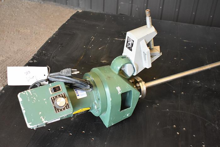 USED LIGHTNIN CLAMP-ON MIXER, 1/3 HP, VARIABLE SPEED